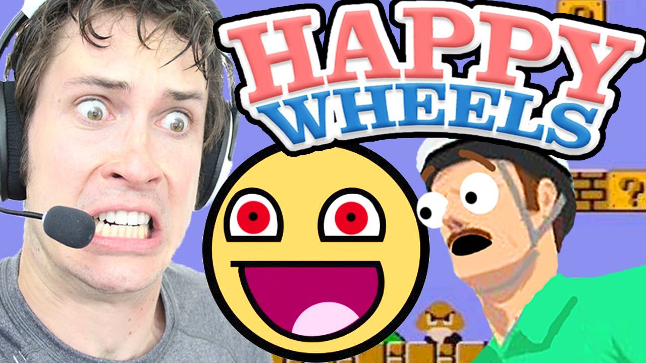 crazy happy wheels