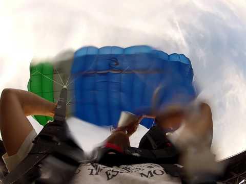coors light BASE jump