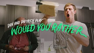 Would You Rather Smoothie or Deep Fry the McDonalds Menu? | Would You Rather | Cut