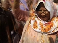 Raw: Widows Celebrate Holi Festival in India
