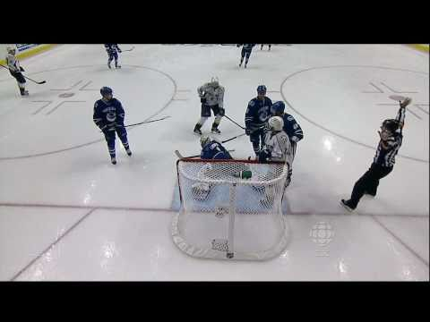 Roberto Luongo Save - Canucks Vs Predators - R2G5 2011 Playoffs - 05.07.11 - HD