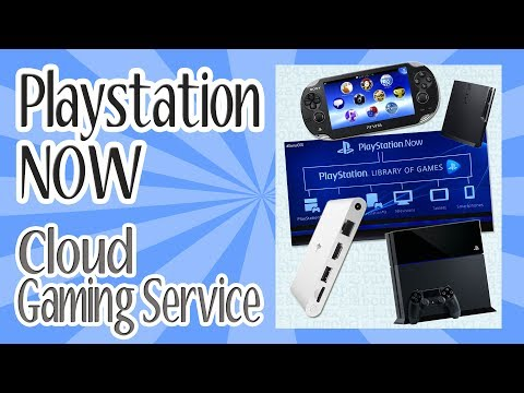 Playstation NOW cloud gaming