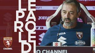 Giampaolo presenta Fiorentina - Torino