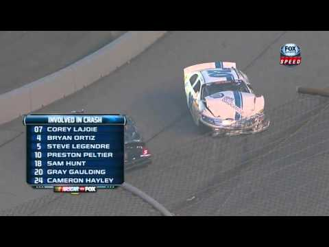 NASCAR K&N Pro Series East 2013 Round 03 Richmond Big one