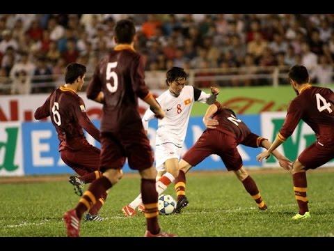 Nguyễn Tuấn Anh U19 Việt Nam ● Skills  & Passes || Nutifood Cup 2014