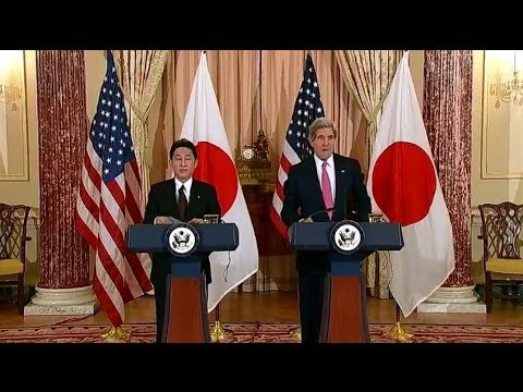 Secretary Kerry Delivers Remarks With Japanese Foreign Minister Kishida