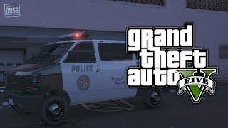 "GTA 5 Online: How To Get The Police ""Transporter"" Van (GTA V)"