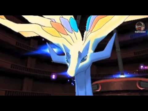 Pokemon X and Y legendary cut scenes!