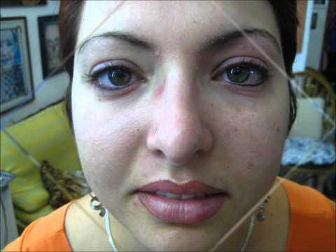 tatuajes en ojos cejas y labios (maquillaje permanente)
