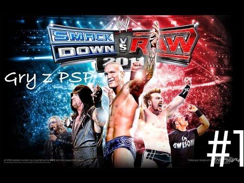 WWE SmackDown vs Raw 2011 #1   Mrkosciak99 - Gry z PSP