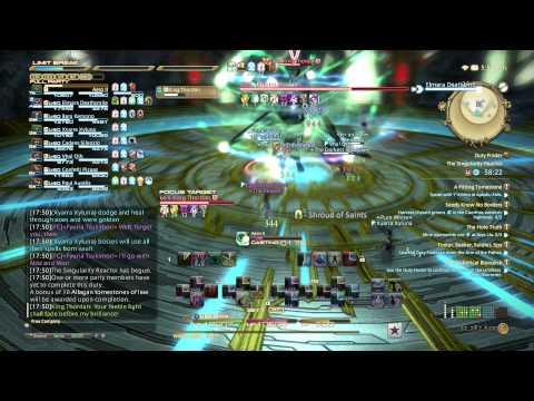 FFXIV: Heavensward Gameplay - 17 - White Mage - The Singularity Reactor