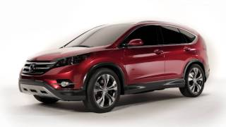 All new Honda CR-V Concept 2012 Trailer videos