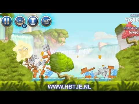 Angry Birds Star Wars 2 Naboo Invasion b1-s1 3 stars