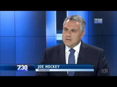 Removing carbon tax: Joe Hockey pledges power bills will go down by 9% & gas bills by 7%