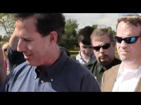 Rick Santorum Says Vote For Ron Paul If You Want Someone Who Voted Conservatively