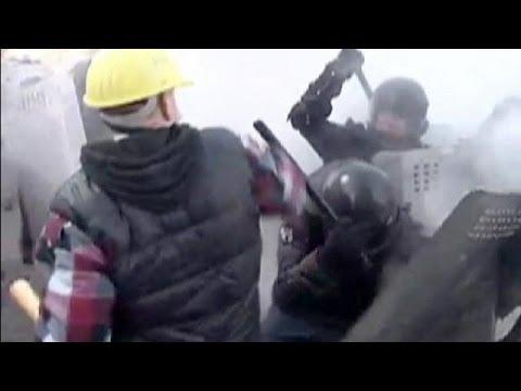 Violence escalates in Kyiv - no comment