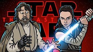 Star Wars The Last Jedi Trailer Spoof - TOON SANDWICH