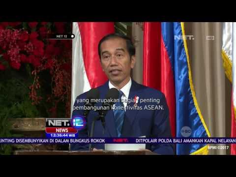 Indonesia - Filipina Resmikan MOU di Berbagai Bidang - NET12