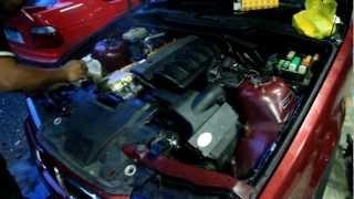 Замена двигателя M52B25