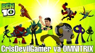 CrisDevilGamer và Omnitrix trong Game Ben 10 2017