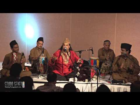 Amjad Sabri Qawal in Chicago Nov 23, 2013 Part 10