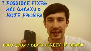 7 POSSIBLE FIXES: ALL SAMSUNG GALAXY & NOTE