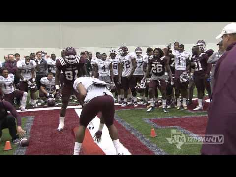 The Board Drill - Texas A&M Spring Football