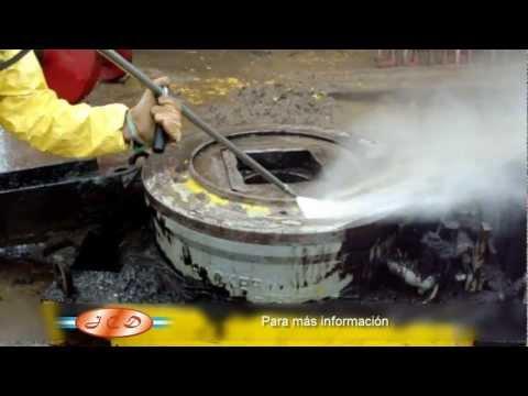 Tratamiento y limpieza de superficies, Hidrojetting