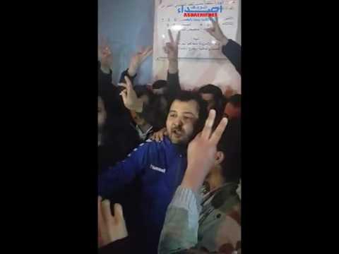 فيديو:لحظة خروج ناصر لاري من السجن المحلي بالحسيمة
