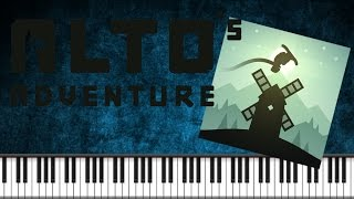 Synthesia [Piano Tutorial] Alto's Adventure - Soundtrack