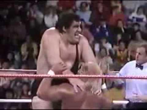 [Vintage] WWF The Main Event - Hulk Hogan vs Andre The Giant