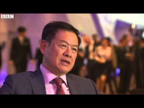 Chinese bank CEO supports anti corruption polices   BBC News
