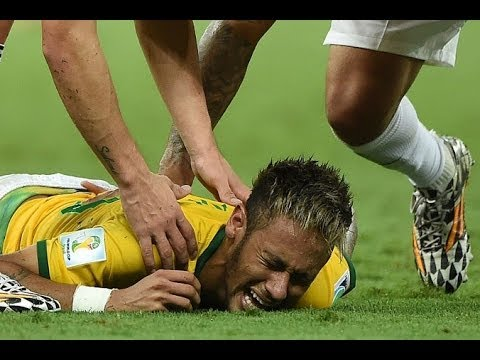 FIFA World Cup 2014 - Neymar's Injury