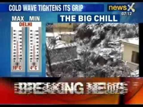 Mercury dips to 17 Years low. North India Chills, normal life disrupted - News X