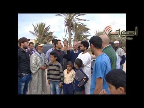 """فيديو: قناة الأمازيغية """"الثامنة"""" تسلط الضوء على الواقع المزري لبوقانة ببني أنصار"""