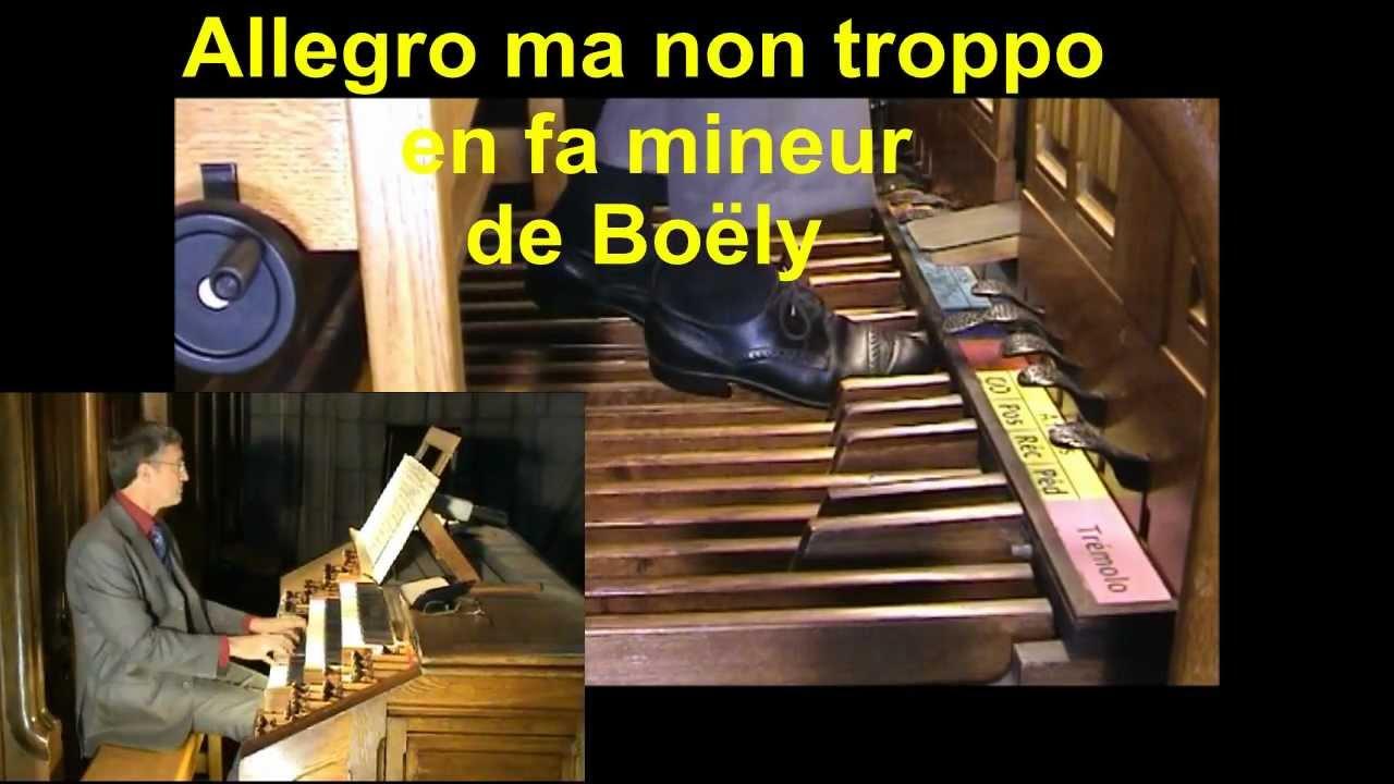 Allegro ma non troppo de Boëly par François CLEMENT - YouTube