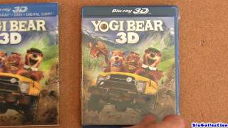 YOGI BEAR blu-ray 3D unboxing review view on youtube.com tube online.