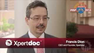 Francis Dion on Xpertdoc's form migration technology
