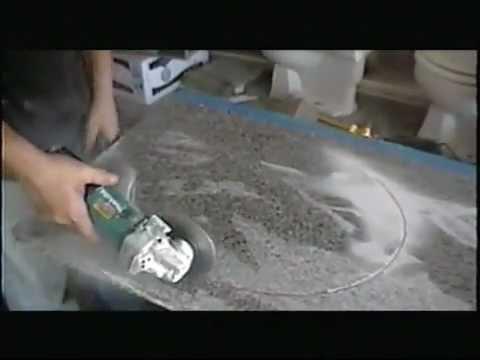 Como cortar la piedra de granito youtube for Piedra de granito