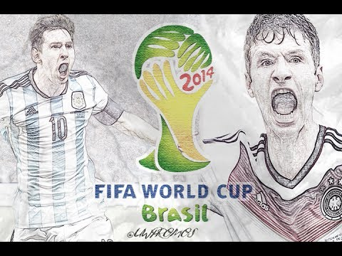 Germany vs Argentina World Cup Final Promo