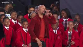 Rapper Common joins Andra Day and Baltimore Choir