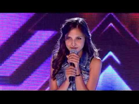 Beauty girl with amazing voice!!! Slavena Radinova X - Factor BG
