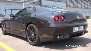 Ferrari 612 Scaglietti with Tubi Style LOUD SOUND! videos