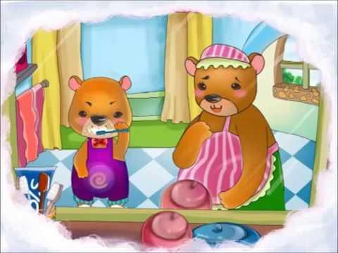 Truyện kể cho bé - Gấu con bị sâu răng - cho bé hào hứng học đánh răng