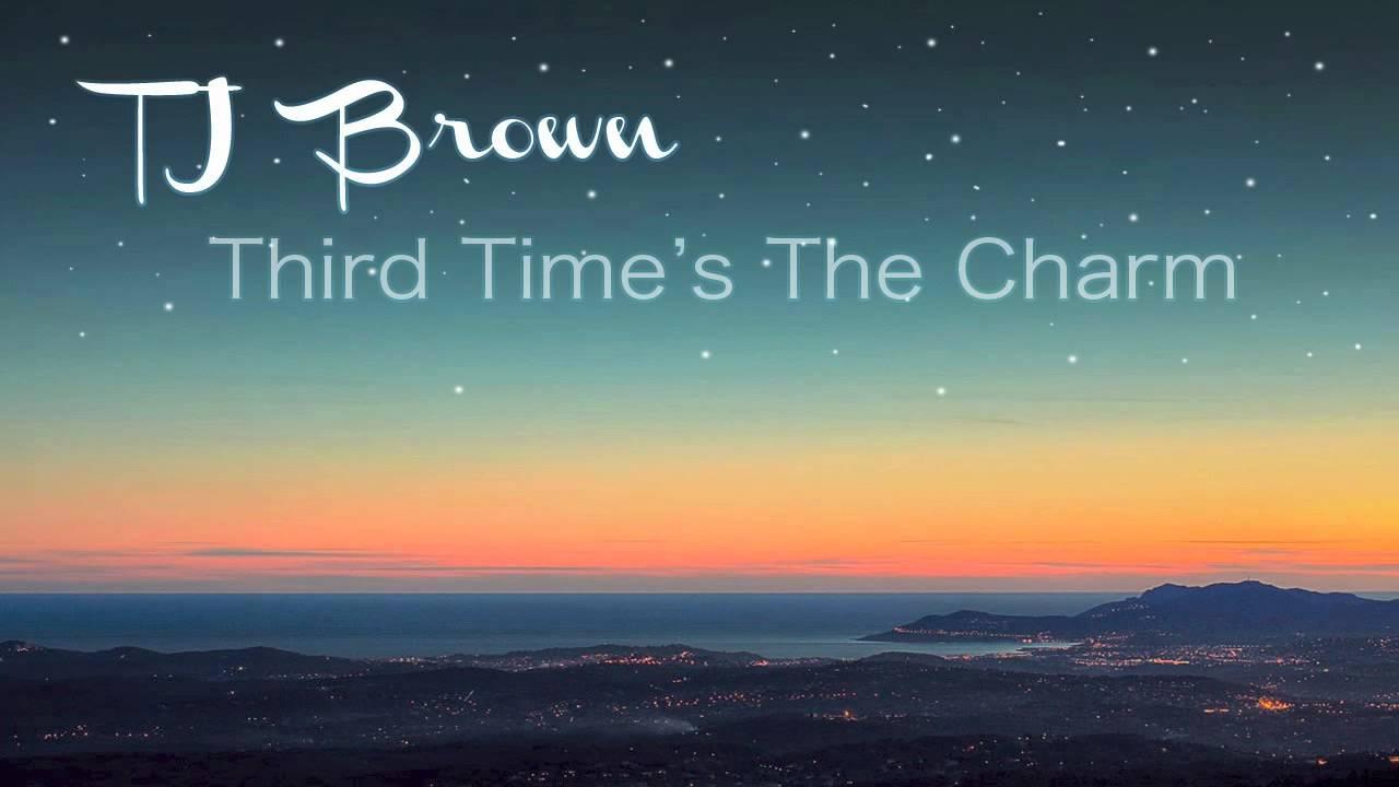 tj brown third time s the charm