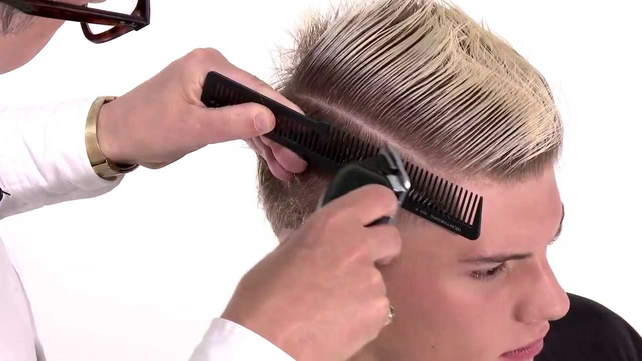 Hairstyle And Hair Cutting : Fudge Professional - Flat Top Haircut Tutorial - YouTube