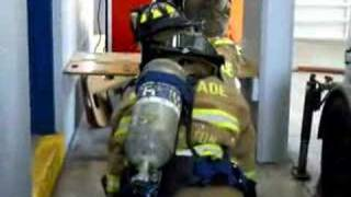 MDFR Firefighter Survival Drill- Follow The Hose! Part1