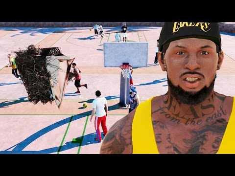NBA 2k16 My Park Gameplay - GIANT BEARDED PLAYER?! Rumors About QJB on Rival Day!