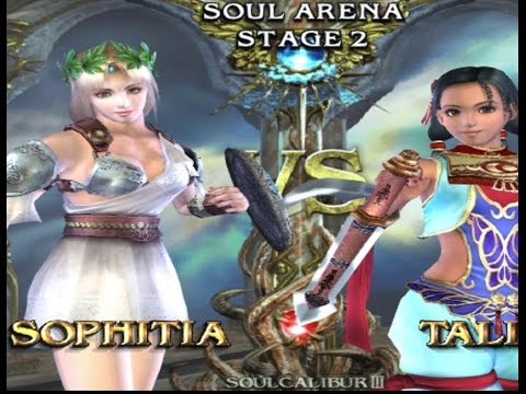 Soul Calibur 3 PCSX2 Sophitia quick battle
