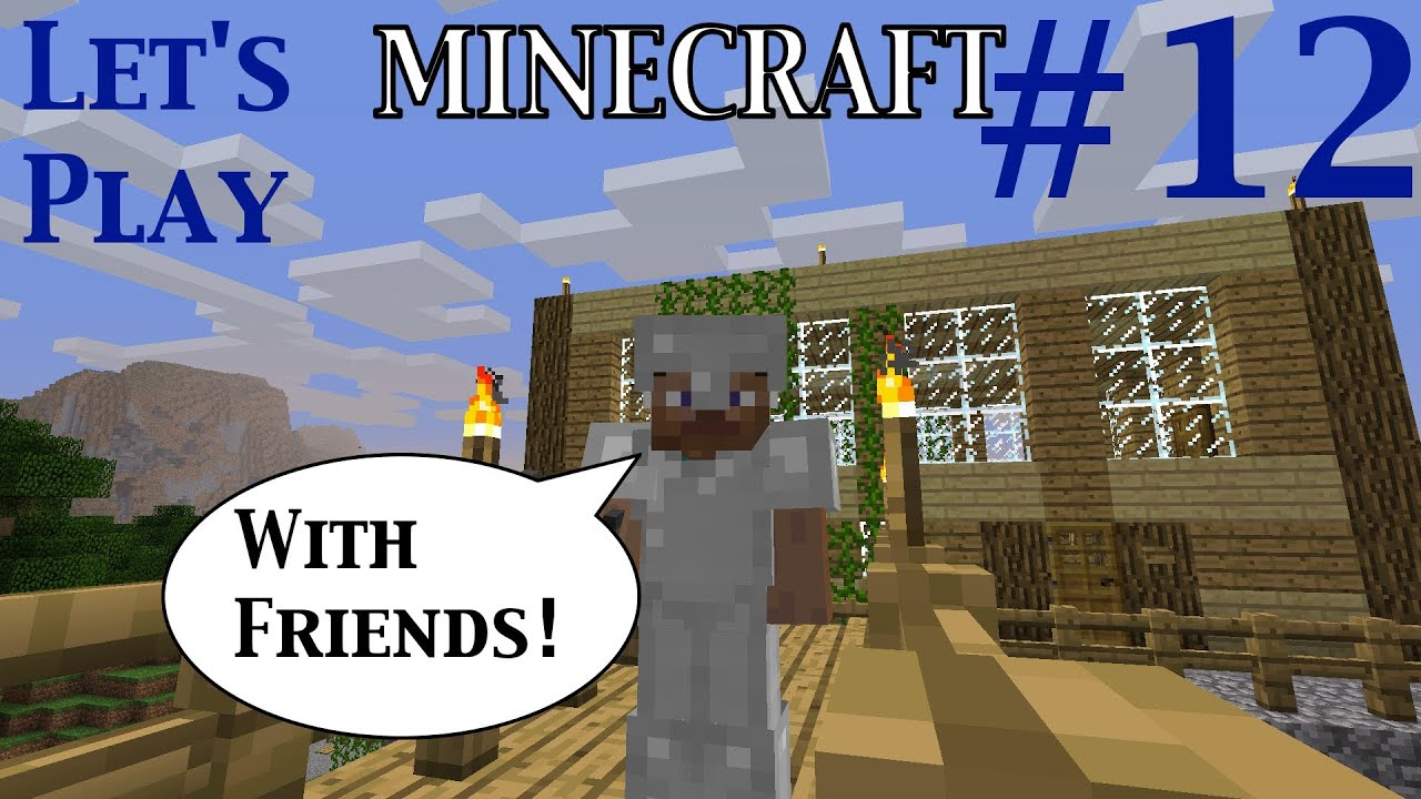 how to play with people on minecraft